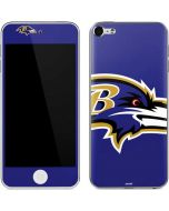 Baltimore Ravens Large Logo Apple iPod Skin