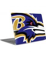 Baltimore Ravens Large Logo Apple MacBook Air Skin