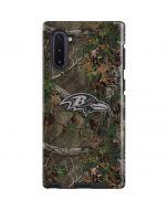 Baltimore Ravens Realtree Xtra Green Camo Galaxy Note 10 Pro Case