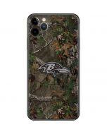 Baltimore Ravens Realtree Xtra Green Camo iPhone 11 Pro Max Skin