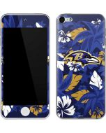 Baltimore Ravens Tropical Print Apple iPod Skin