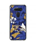 Baltimore Ravens Tropical Print LG K51/Q51 Clear Case