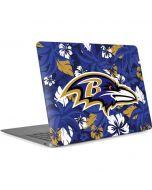 Baltimore Ravens Tropical Print Apple MacBook Air Skin