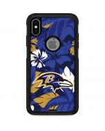 Baltimore Ravens Tropical Print Otterbox Commuter iPhone Skin