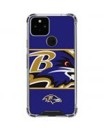Baltimore Ravens Zone Block Google Pixel 5 Clear Case