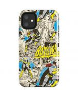 Batgirl All Over Print iPhone 11 Impact Case