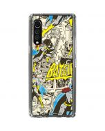 Batgirl All Over Print LG Velvet Clear Case