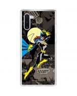 Batgirl Mixed Media Galaxy Note 10 Clear Case