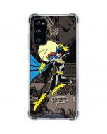 Batgirl Mixed Media Galaxy S20 FE Clear Case