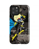 Batgirl Mixed Media iPhone 11 Pro Impact Case