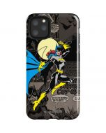 Batgirl Mixed Media iPhone 11 Pro Max Impact Case