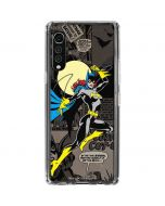 Batgirl Mixed Media LG Velvet Clear Case