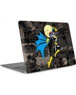 Batgirl Mixed Media Apple MacBook Air Skin