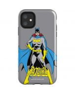 Batgirl Portrait iPhone 11 Impact Case