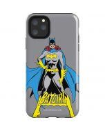 Batgirl Portrait iPhone 11 Pro Max Impact Case
