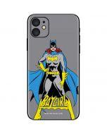 Batgirl Portrait iPhone 11 Skin