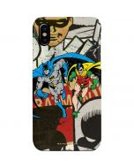 Batman and Robin Vintage iPhone XS Max Lite Case