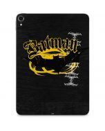 Batman Bat Logo Yellow & Black Apple iPad Pro Skin