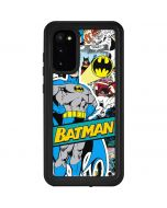 Batman Comic Book Galaxy S20 Waterproof Case