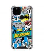 Batman Comic Book Google Pixel 5 Clear Case