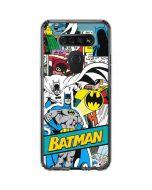 Batman Comic Book LG K51/Q51 Clear Case