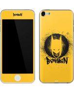 Batman Graffiti Apple iPod Skin