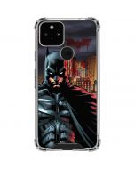 Batman in Gotham City Google Pixel 5 Clear Case