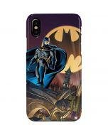 Batman in the Sky iPhone XS Max Lite Case