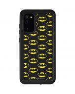Batman Logo All Over Print Galaxy S20 Waterproof Case