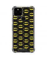 Batman Logo All Over Print Google Pixel 5 Clear Case
