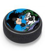 Batman vs Joker - Blue Background Amazon Echo Dot Skin