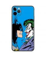Batman vs Joker - Blue Background iPhone 11 Pro Max Skin