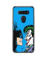 Batman vs Joker - Blue Background LG K51/Q51 Clear Case