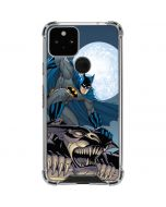 Batman Watches Over the City Google Pixel 5 Clear Case