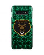 Baylor Bears Checkered Galaxy S10 Plus Lite Case