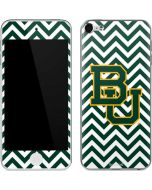 Baylor Chevron Print Apple iPod Skin