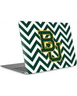 Baylor Chevron Print Apple MacBook Air Skin