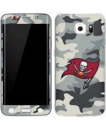 Tampa Bay Buccaneers Camo Galaxy S6 Edge Skin