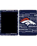 Denver Broncos Blue Blast Apple iPad Air Skin