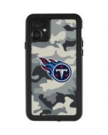 Tennessee Titans Camo iPhone 11 Waterproof Case