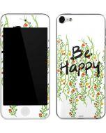 Be Happy Apple iPod Skin