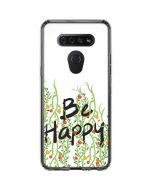 Be Happy LG K51/Q51 Clear Case