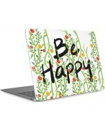 Be Happy Apple MacBook Air Skin