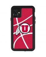 Utah Red Basketball iPhone 11 Waterproof Case