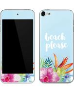 Beach Please Apple iPod Skin
