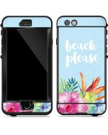 Beach Please LifeProof Nuud iPhone Skin