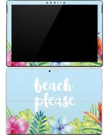 Beach Please Surface Pro (2017) Skin