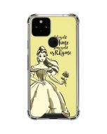 Belle Tale As Old As Time Google Pixel 5 Clear Case