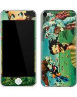 Betty Boop at Sea Apple iPod Skin
