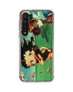 Betty Boop at Sea Moto G8 Plus Clear Case
